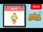 Animal Crossing- New Horizons - Exploring April - Nintendo Switch