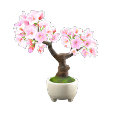 Cherry Blossom Bonsai Animal Crossing Wiki Fandom