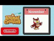 Animal Crossing- New Horizons - Exploring November - Nintendo Switch