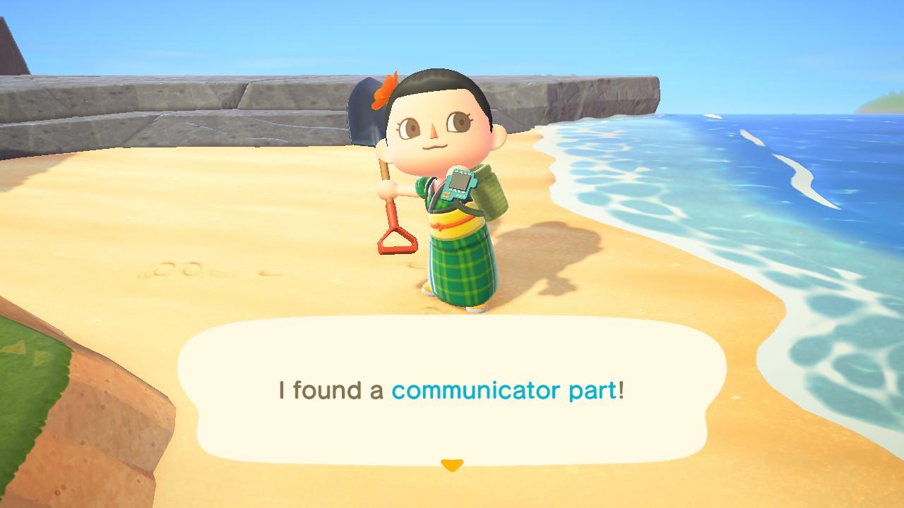 Communicator part