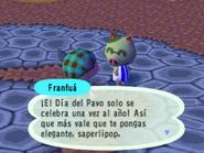 Hablando con Franfuá en el Día del Pavo