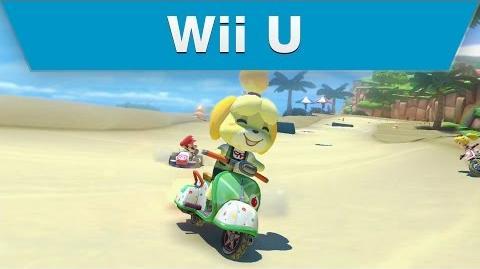 Wii U - Mario Kart 8 Animal Crossing Course Trailer