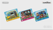Amiibo mobile home cards
