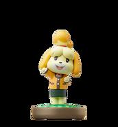 Isabelle amiibo figure (winter)