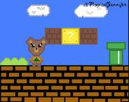 Maple Stuck In Mario Run Pixel Art by @MxgicalJennifer