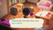 Katt giving picture