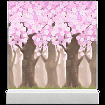 Cherry Blossom Trees Wall Animal Crossing Wiki Fandom