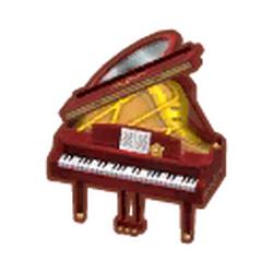 Scarlet Grand Piano