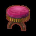 Furniture Pink Velvet Stool.png