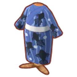 Blue Goldfish Yukata