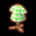 Tops gingham leaf.png