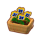 Furniture Potted Yellow-Blue Pansies.png
