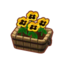 Furniture Potted Yellow Pansies.png