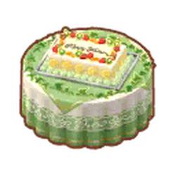 Fresh-Fruit Wedding Cake