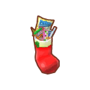 Furniture Red Stuffed Stocking.png