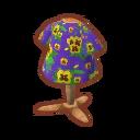 Floral Tee (Yellow Pansies).png