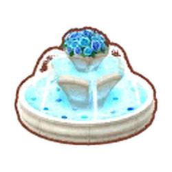 Regal Blue-Rose Fountain