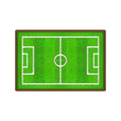 Soccer-Field Rug