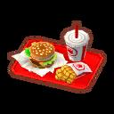 Veggie Burger Meal Animal Crossing Pocket Camp Wiki Fandom