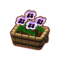 Furniture Potted White Pansies.png