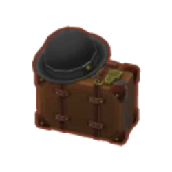 Old-Timey Suitcase