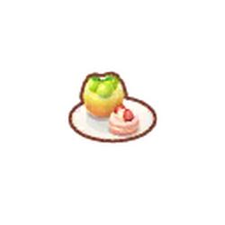 Fruity Dessert Plate