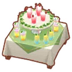 Pink-Lemonade Table