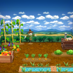 Garden Log Bench