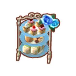 Regal Rose Dessert Stand