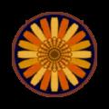 Car rug round flower.png