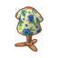 Floral Tee (Blue Pansies).png