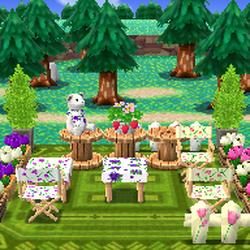 Flower-Garden Lounge