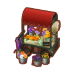 Red Flower Wagon