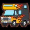 Car Pattern Flaming Forward Icon.png