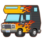 Car Pattern Flaming Forward Icon.png