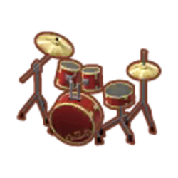 Scarlet Drum Set