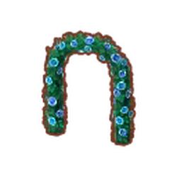 Blue-Rose Garden Arch