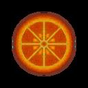 Car rug round citrus.png
