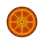 Car rug round citrus.png