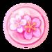 Sakura Glass Sphere
