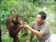 Volunteer At Taiping Zoo Day 2 068