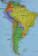 South America map-better