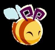 Pet Honeybee art happy1