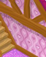 Friendship-Cottage Wavy-Pink-Walls