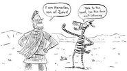 Julius Zebra Grapple with the Greeks by Gary Northfield