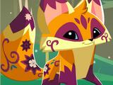 Frolicking Fox