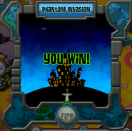 You win at the Phantom Fighter