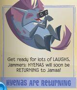 Hyenasarereturning