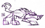 Wolf concept art