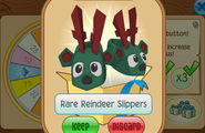 Daily-Spin-Gift Rare-Reindeer-Slippers